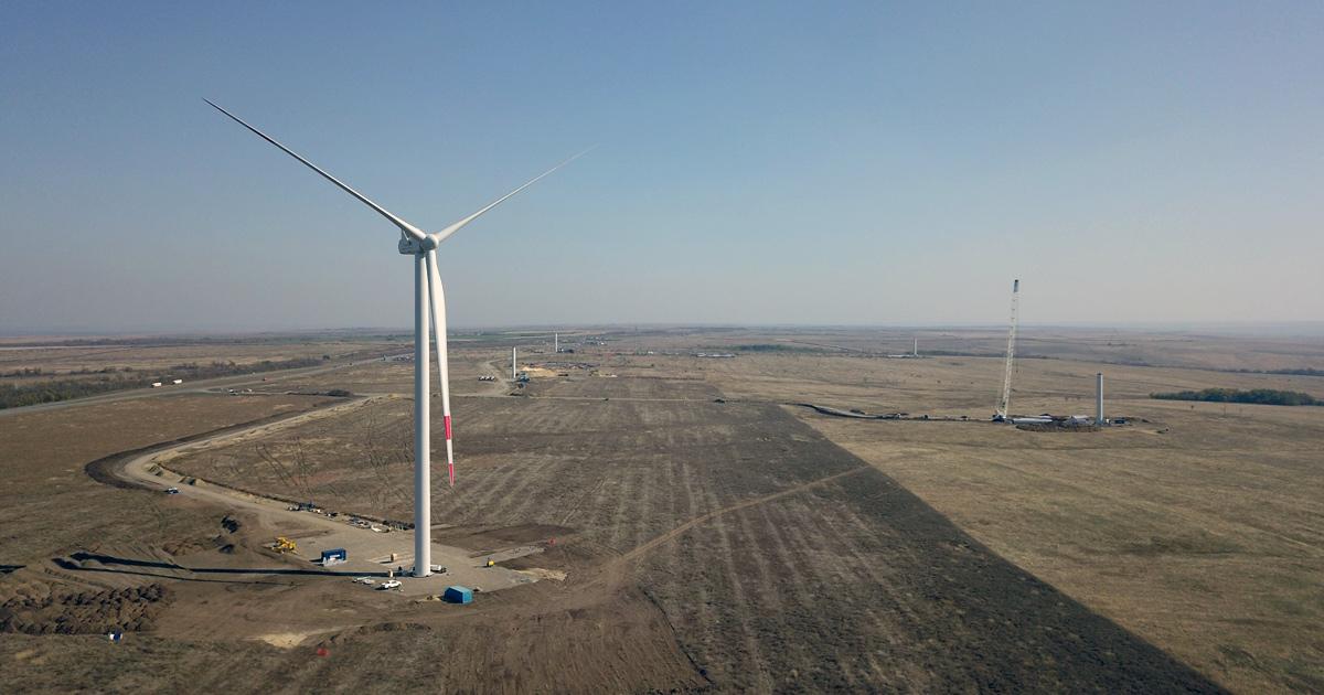 Substation 110 kV of Sulinskaya WPP and Substation 110kV of Kamenskaya WPP were put into operation