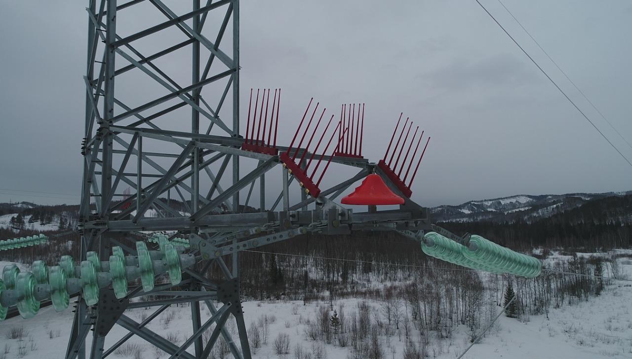 """Budowa drugiej linii napowietrznej 220 kV podpory Minusinskaja - Kamala-1 o przybliżonej długości 445 km"""""""