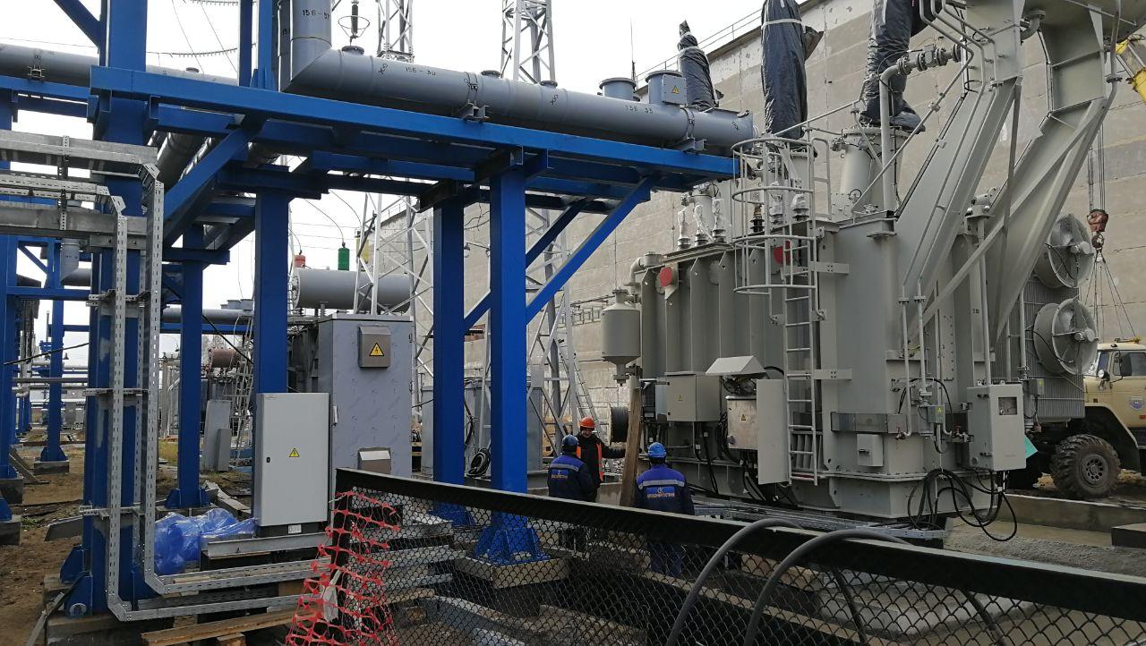 Реконструкция ГПП-220 на территории АО «Газпромнефть-ОНПЗ»