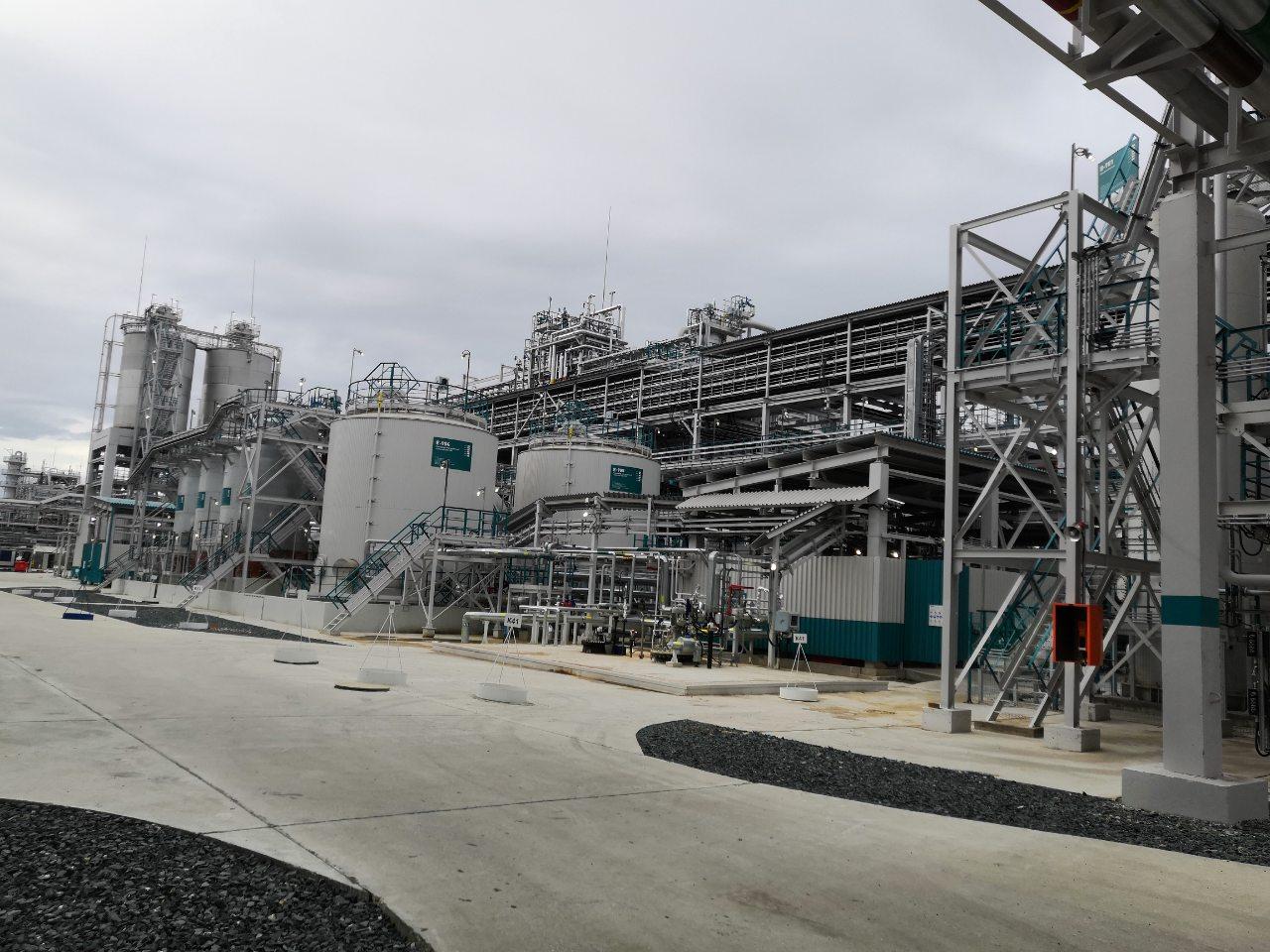 «Строительство нового производства ДОТФ мощностью 100 тыс. тонн в год на площадке АО «Сибур-Химпром»