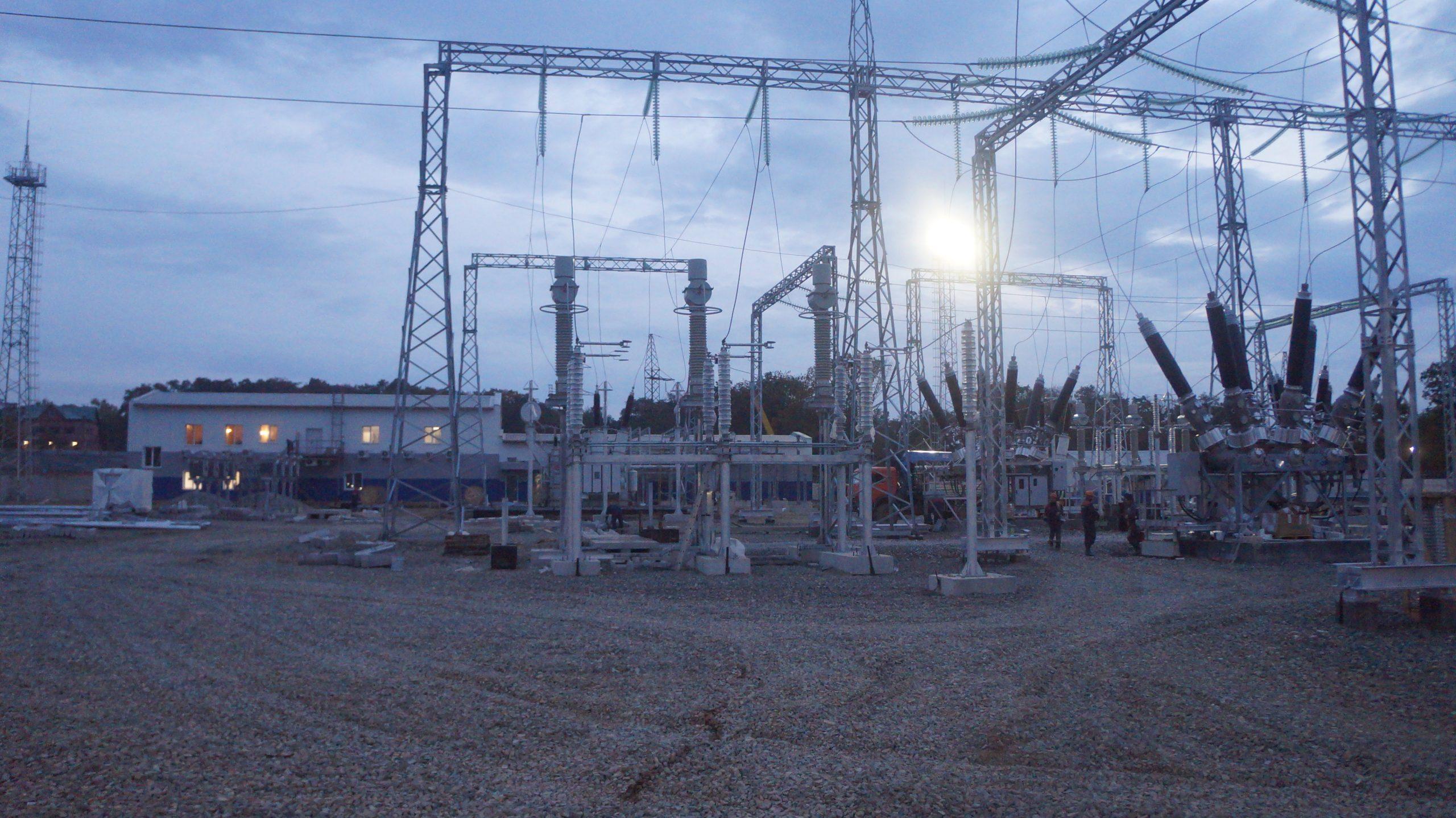 «Строительство ПС 220 кВ Звезда с заходами ВЛ 220 кВ Береговая-2 – Перевал» для нужд филиала ПАО «ФСК ЕЭС» - МЭС Востока