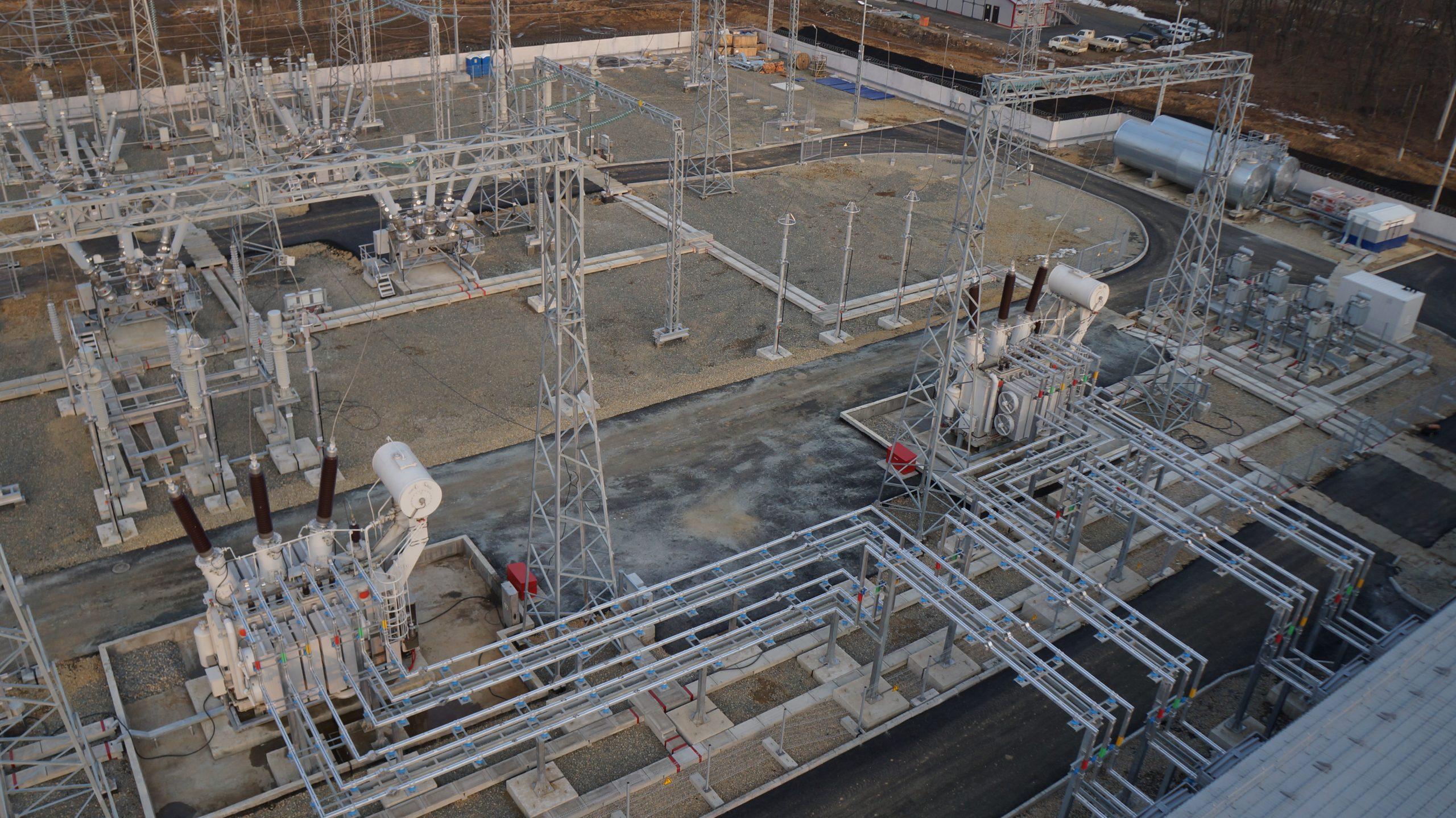 Расширение ПС 220 кВ Селихино для нужд ПАО «ФСК ЕЭС» - МЭС Востока