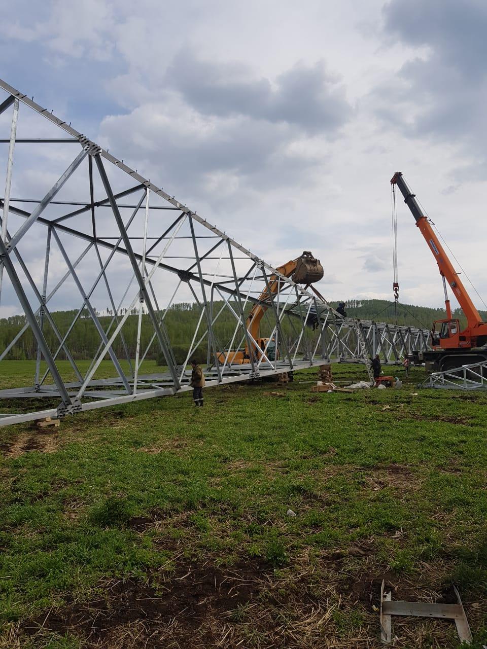 ООО «Энергокомплект» приступило к поставке провода и линейной арматуры для строительства ЛЭП 220 кВ в Красноярском крае