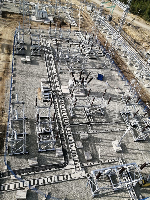 ООО «Энергокомплект» завершает поставку материалов для строительства ПС Налдинская
